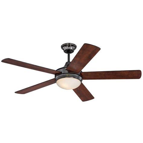 metal fans at home depot westinghouse zander 52 in gun metal indoor ceiling fan