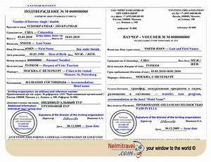 Russian visa support letter and information for Russian tourist visa support letter