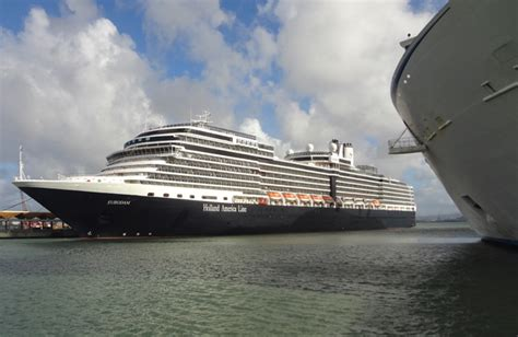 ms eurodam ship facts itinerary wiki location history built