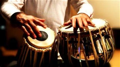 australias dli  prints  classical indian tabla drum