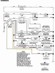 Electric Lawn Mower Wiring Diagram