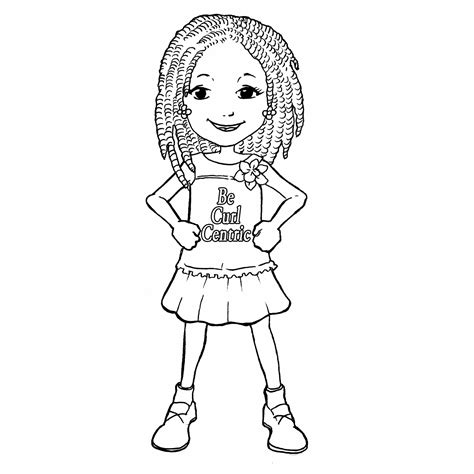 curly hair girl coloring page curly hair styles hair