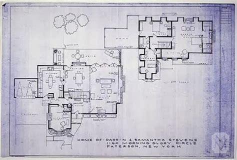 blue prints of houses bewitched house tour leslie anne tarabella