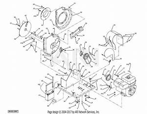 Dr Power Commercial Llv Parts Diagram For Blower  Chipper Assy  Robin Engine