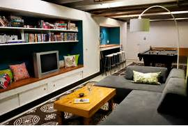 Basement Bedroom Ideas For Teenagers by Basement Pool Room Teen Hangout Contemporary Basement Indianapolis By