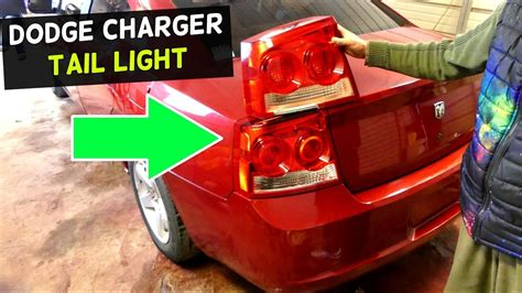 2007 dodge charger tail lights dodge charger tail light replacement 2005 2006 2007 2008