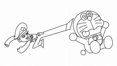 Singham Coloring Doraemon