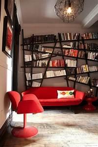 Etagere Murale Rouge : l tag re biblioth que comment choisir le bon design ~ Teatrodelosmanantiales.com Idées de Décoration