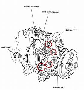 A  C Compressor Grinding  Clunking When Clutch Engaged    - Honda-tech