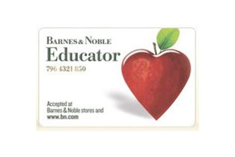 barnes and noble educator barnes noble educator information for
