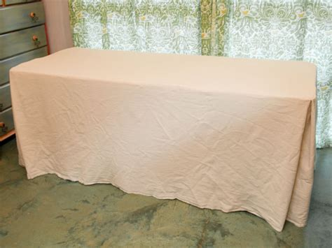 how to make a tablecloth for a rectangular table how to sew an easy fitted tablecloth for a folding table