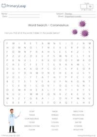 word search coronavirus
