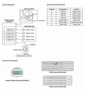 Kia Rio  Inhibitor Switch Circuit Diagram