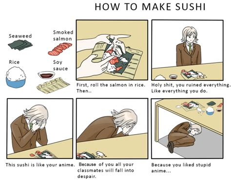 How To Make A Meme Comic With Your Own Picture - how to make sushi know your meme