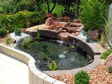 bassin de jardin et cascade bassin de jardin