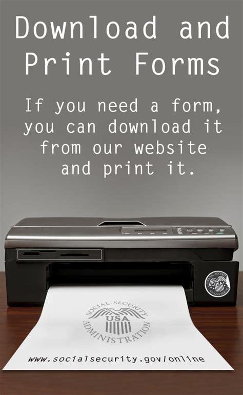 www social security gov online forms 65 best social security online services images on