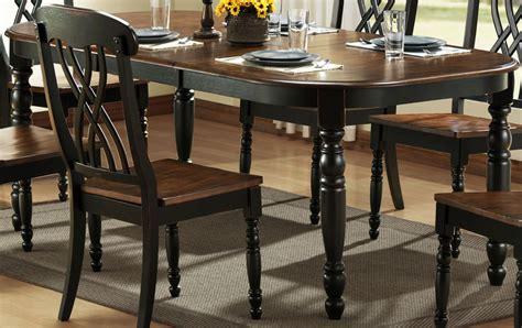 Homelegance Ohana Black Dining Table 1393bk78
