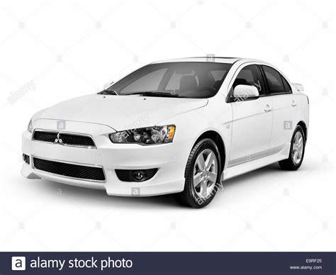 lancer mitsubishi white white 2014 mitsubishi lancer compact car isolated on white