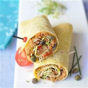 Recette Avec Tortillas Wraps : recette de wraps au thon recettes di t tiques ~ Melissatoandfro.com Idées de Décoration