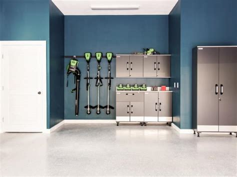 garage wall paint garage organization ideas tips tools hgtv