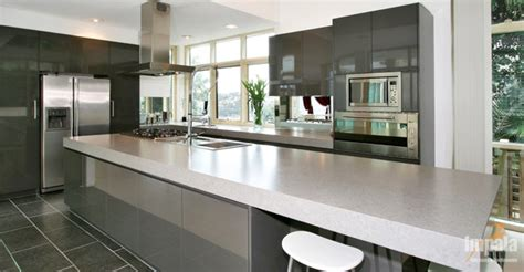 contemporary island kitchen