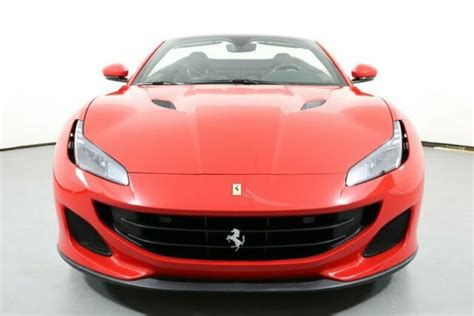 Checkout for ferrari portofino 2021 full features and specifications including dimensions, fuel consumption, engine specs, technical specifications key specifications & features of the ferrari portofino 2021. Used 2019 Ferrari Portofino Coupe 295 Miles Rosso Corsa Convertible 8 Cylinder Engine for sale
