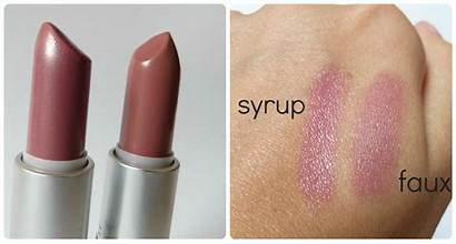 Mac Syrup Lipstick Faux Lip Makeup Soft