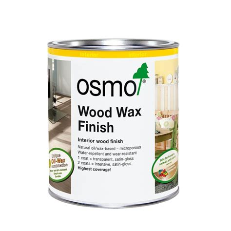 osmo wood wax finish intensive  venture products