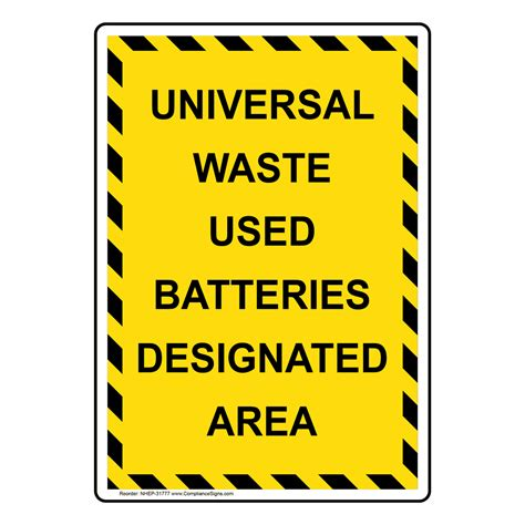 how to address a letter to a judge portrait universal waste used batteries designated sign 31777