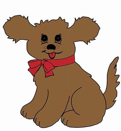 Dog Puppy Cartoon Clipart Clip Domain Face