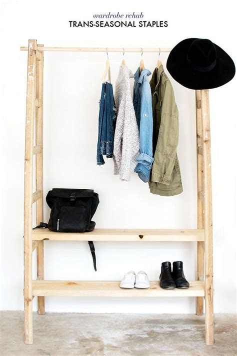 Free Standing Coat Closet by Keep Your Wardrobe In Check With Freestanding Clothing