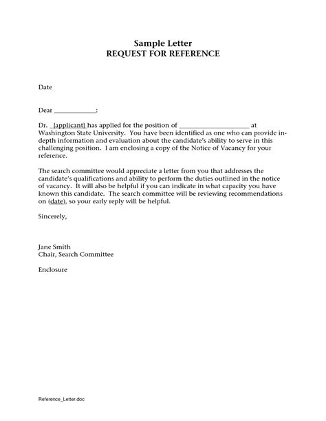 Letter To Ask For Recommendation by How To Ask For A Letter Of Recommendation