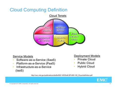 cloud computing defined