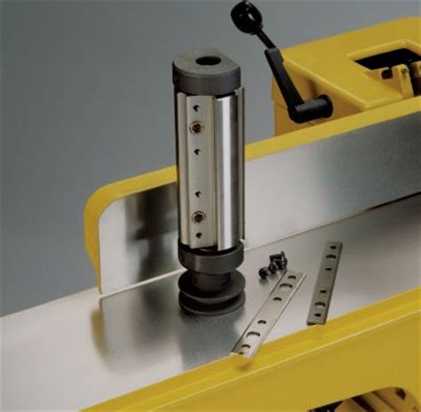powermatic    jointer  quick set knives