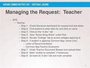 Letter Of Recommendation For Students Applying To College Nsi 2012 How To Mobilize Students Parents And Staff To