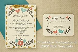 diy tutorial free printable invitation and rsvp card With free online wedding invitations and rsvp