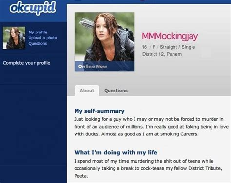 Online Dating Profile Female Examples