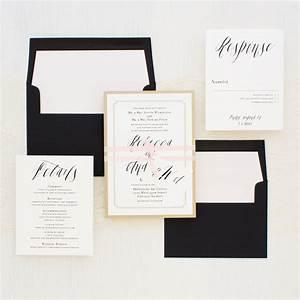 elegant type wedding invitations beacon lane With types of wedding invitations printing
