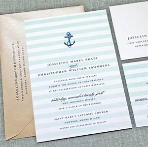 josseline nautical wedding invitation sample aqua mint With minted navy wedding invitations