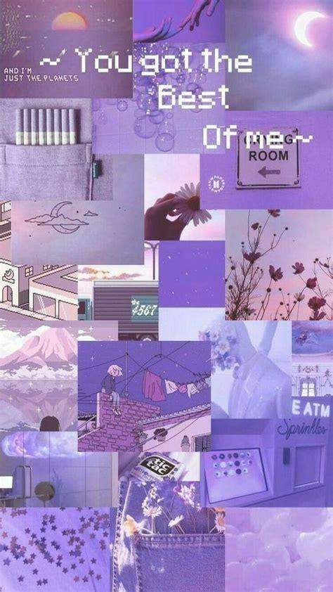 pin  elsa maulina  katalog ungu aesthetic iphone