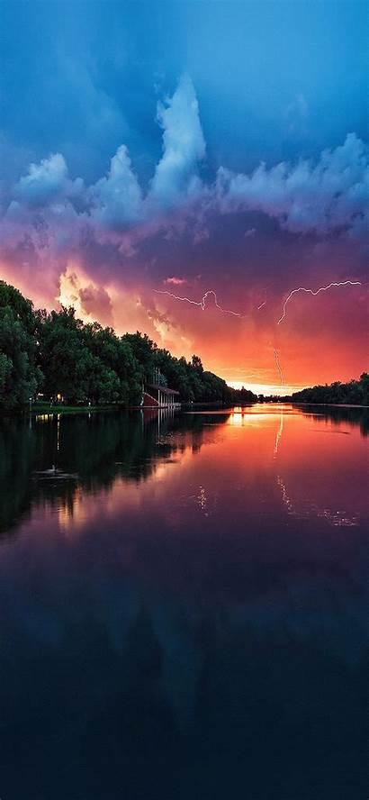 Iphone Nature Lake River Sea Wallpapers Lightening