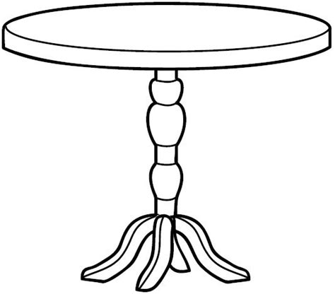 coffee table  coloring pages coloring pages