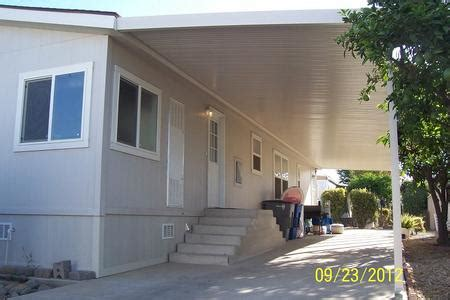 mobile home awnings central valley awning
