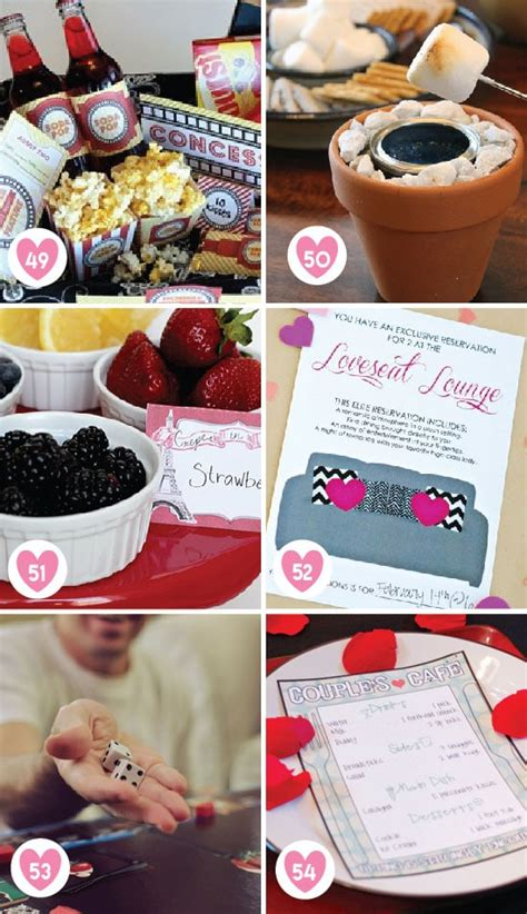 Date night at home ideas. Over 100 Romantic Valentine's Day Date Ideas - From The ...