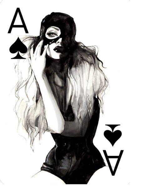 images  queen  spades  pinterest spirit