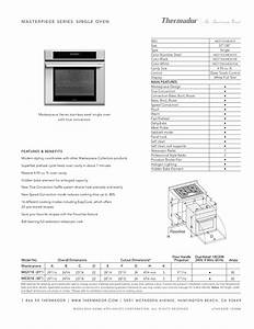 Download Free Pdf For Thermador Me301eb Oven Manual