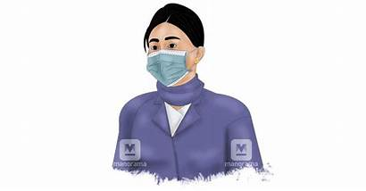 Mask Covid Coronavirus Wear Corona Animation Put