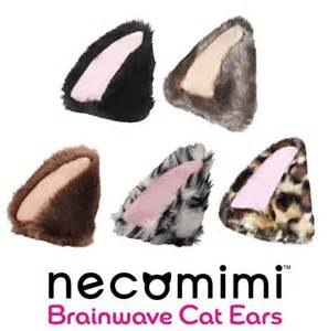brainwave cat ears neurowear necomimi nekomimi band brainwave controlled cat
