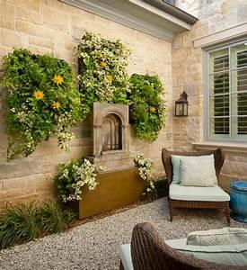Aussen Hauswand Deko : h ngende zimmerpflanzen und balkonpflanzen umweltgerechtes haus ~ Sanjose-hotels-ca.com Haus und Dekorationen