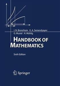 Handbook Of Mathematics  Sixth Edition